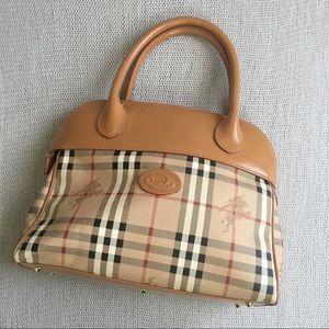 BURBERRY Zipper Tote Bag